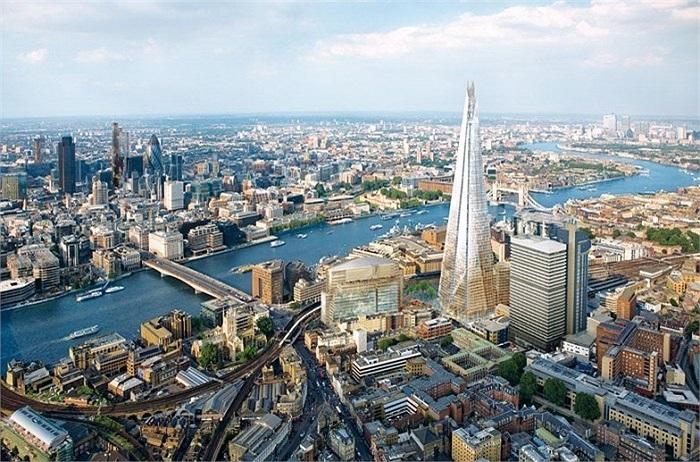 5. Luân Đôn (Anh): 40 tỷ phú