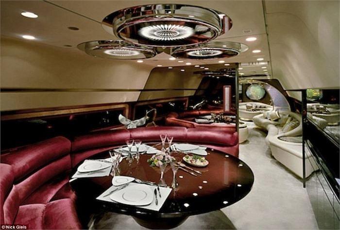 Không gian ấn tượng với thiết kế sang trọng