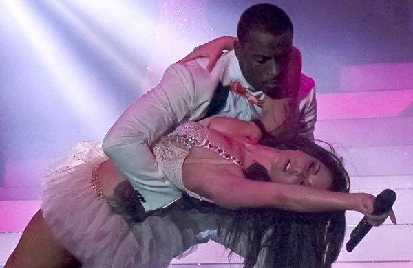Cheryl và Tre- vũ công kiêm người yêu cũ