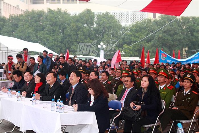 Tham gia ngày hội có hàng chục nghìn sinh viên trên địa bàn Thủ đô