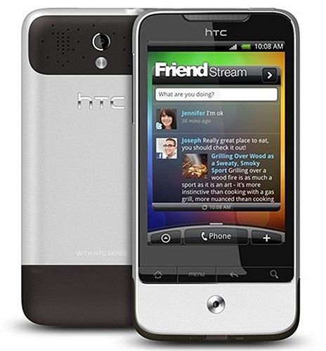 HTC Legend:HTC tiếp tục tăng sức hút tới khách hàng khi cho ra đời chiếc Legend vào năm 2010. Đây là phiên bản nâng cấp cho 'người hùng' HTC Hero, sản phẩm trang bị màn hình cảm ứng AMOLED và hoạt động trên hệ điều hành Android 2.1 với giao diện HTC