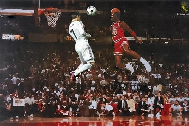 Thống kê khoa học cho thấy Ronaldo nhảy cao hơn khả năng bật nhảy trung bình của các cầu thủ bóng rổ tại giải nhà nghề Mỹ