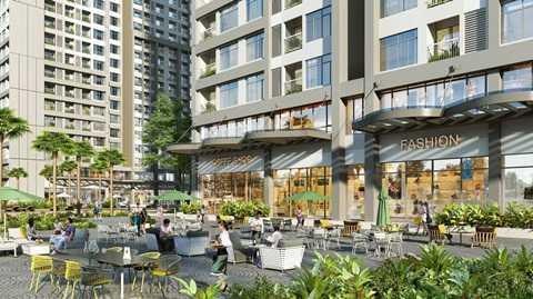 Shophouse Park Hill PREMIUM sang trọng, đẳng cấp là cơ hội kinh doanh vàng cho chủ sở hữu.