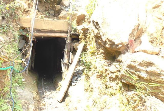 Căn hầm nơi xảy ra sự việc.