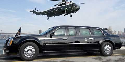 The Beast có máy bay riêng để phục vụ Tổng Thống khi cần.