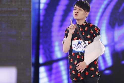 Hình ảnh Mai Thái Anh trong cuộc thi Vietnam Idol