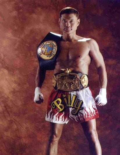 Billy Chow là người gốc Hoa đầu tiên vô địch kickboxing