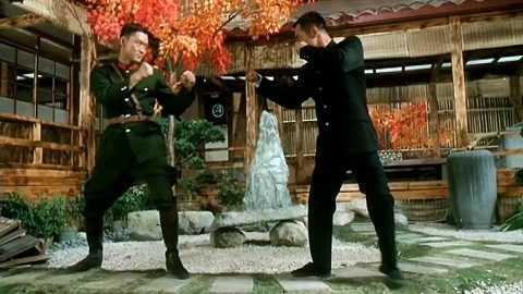Châu Bỉ Lợi hợp tác với Lý Liên Kiệt trong Tinh võ anh hùng (1994)