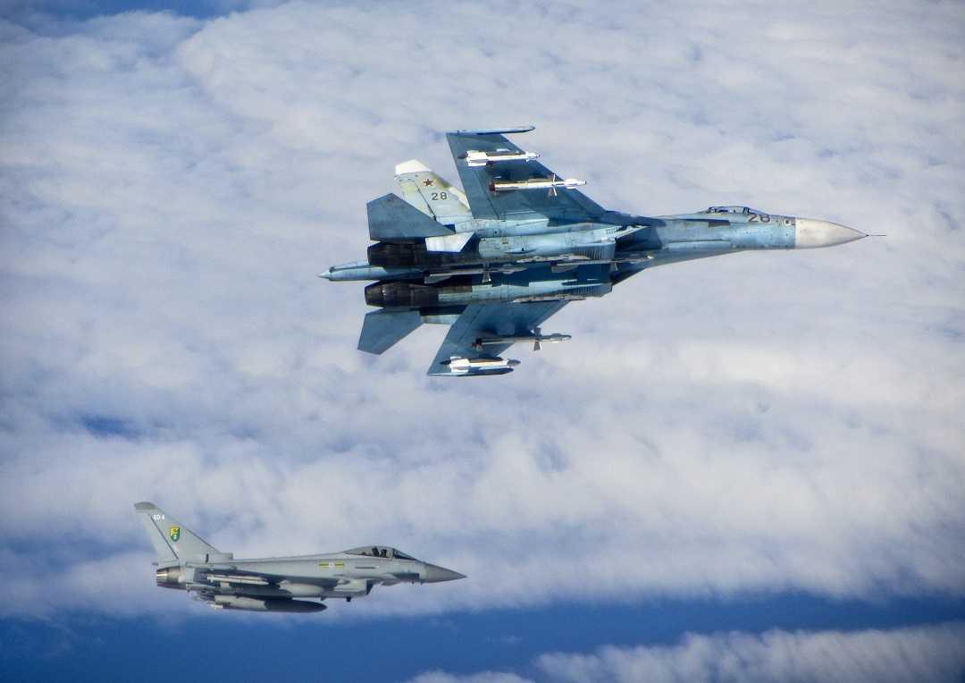 Chiến cơ Su-27 của Nga - Ảnh minh họa