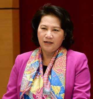 Chủ tịch Quốc hội, Chủ tịch Hội đồng bầu cử quốc gia Nguyễn Thị Kim Ngân. Ảnh: Quochoi.vn.