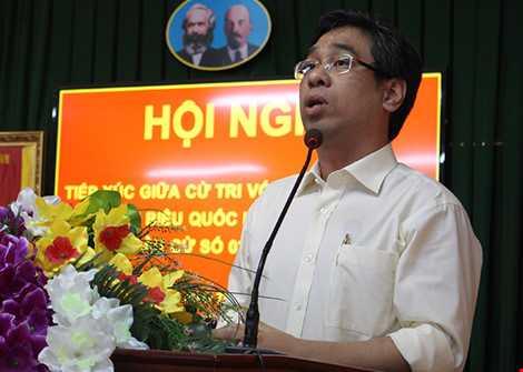 Ông Nguyễn Phước Lộc cho rằng nên xử lý hình sự nếu vi phạm ATVSTP. Ảnh: LÊ THOA