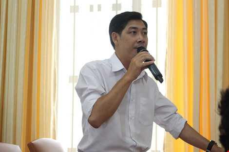 Cử tri Đoàn Văn Nên (phường 5) băn khoăn khi hàng Thái chiếm lĩnh thị trường Việt. Ảnh: LÊ THOA