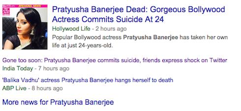 Các trang báo lớn tại Hollywood và Ấn Độ đều đồng loạt chia sẻ thông tin này.