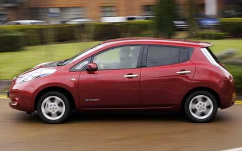 Dòng xe LEAF của Nissan - Ảnh: Telegraph