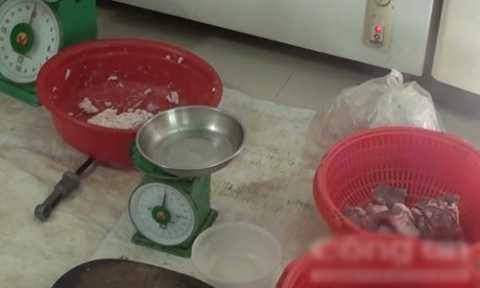 Một số nguyên liệu dùng để chế biến giò chả