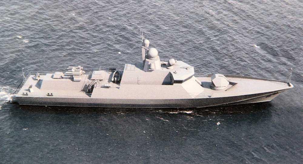 Chiến hạm Nga - Ảnh minh họa