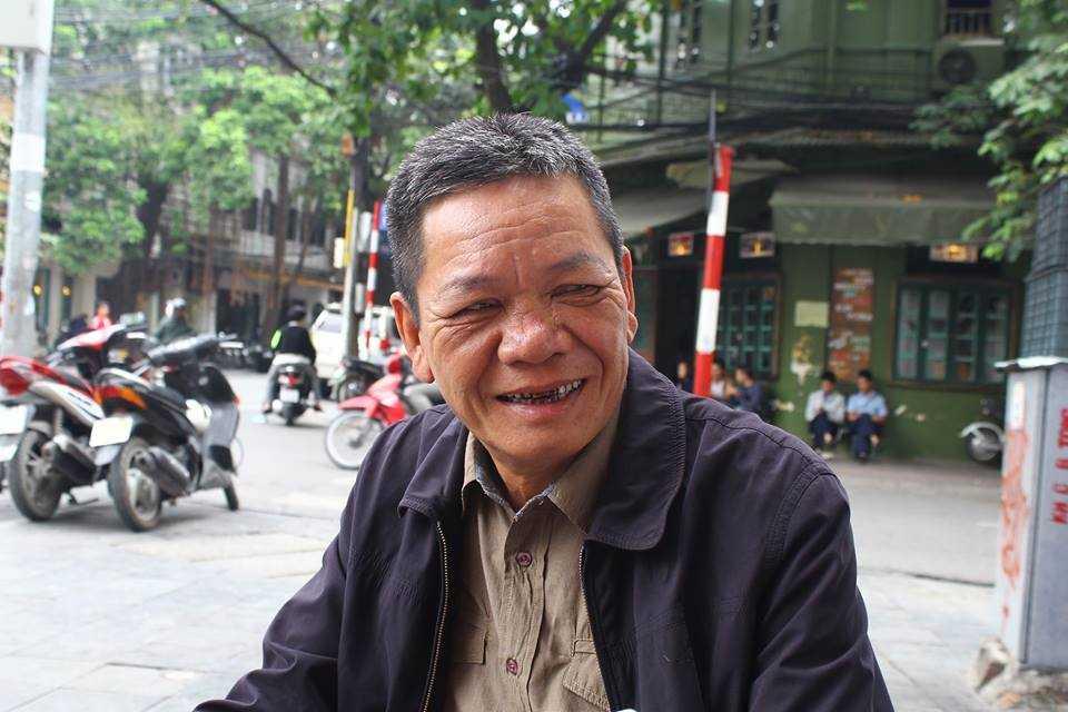 Thượng tá Lê Đức Đoàn, nguyên Chiến sĩ Cảnh sát giao thông thuộc Đội 1, người được cánh lái xe gọi thân mật là bố Đoàn.