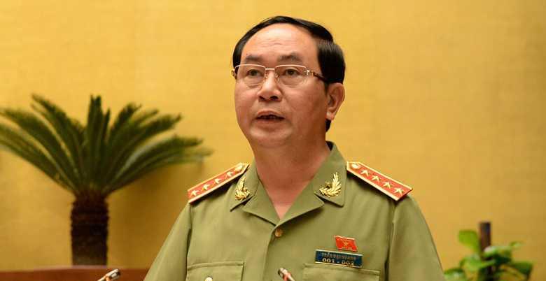 Ông Trần Đại Quang là ứng viên duy nhất được giới thiệu để bầu Chủ tịch nước
