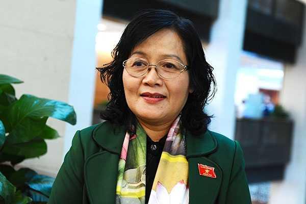 Đại biểu Trần Thị Quốc Khánh (Hà Nội)