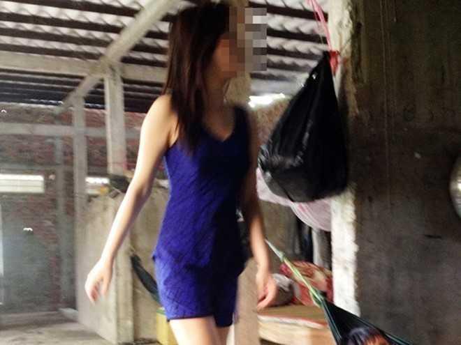 Lúc Thanh bán dâm cho ông Tiêu, cô chưa đủ 16 tuổi. Ảnh: Việt Tường.