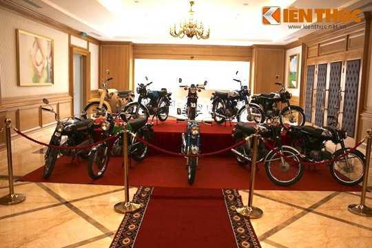 Tại buổi Hội ngộ Honda 67 toàn quốc lần thứ 9, một bộ sưu tập xe côn tay Honda hàng độcgồm; 65, 66, 67, 68, 69, 71, 72 theo cách gọi của người Việt Nam đã được trưng bày.