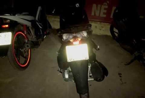Chiếc xe máy của nam thanh niên sử dụng