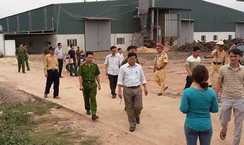Cơ quan công an điều tra vụ nổ tại Công ty CP Thế giới gỗ Việt Nam