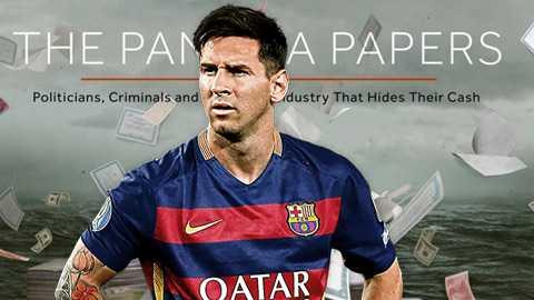 Messi lại bị nghi trốn thuế