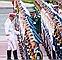 Chùm ảnh: Đội danh dự chờ đón Tổng thống Obama tại Phủ Chủ tịch