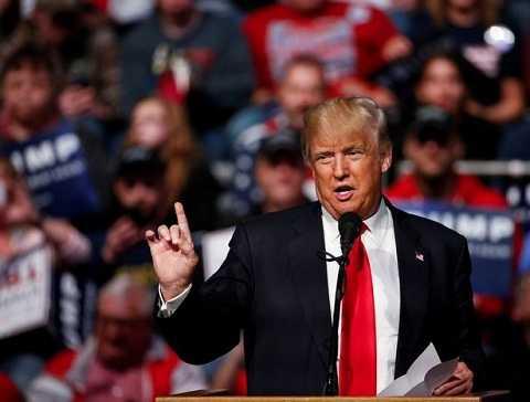 Ông Trump lại tiếp tục phát biểu gây sốc