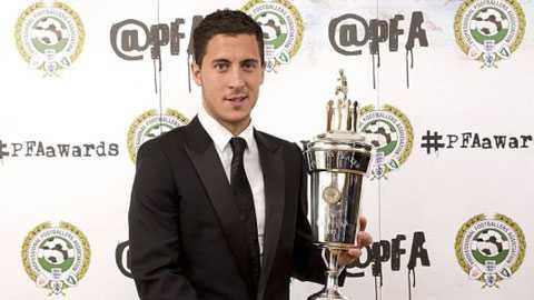 Eden Hazard là cầu thủ xuất sắc nhất mùa trước