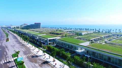 Khu resort FLC Sầm Sơn đã góp phần thay đổi diện mạo thị xã du lịch biển Sầm Sơn