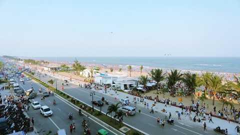 Sầm Sơn đang từng bước trở thành một trong những đô thị đáng sống tại Việt Nam