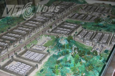 Phối cảnh nhà tù Phú Quốc trong chế độ cũ
