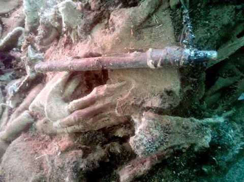Phát hiện xác ướp cổ đại cách đây 1500 năm.