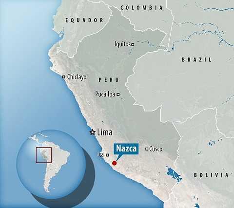 Hệ thống Puquios trên bản đồ