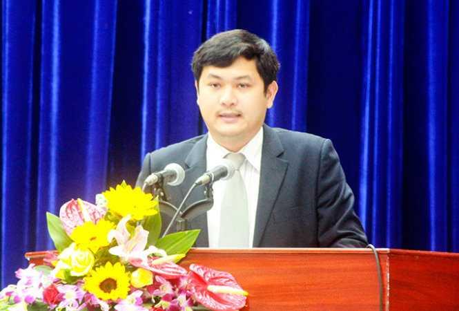 Ông Lê Phước Hoài Bảo, giám đốc Sở Kế hoạch - đầu tư Quảng Nam trúng cử HĐND tỉnh Quảng Nam - Ảnh: T.L