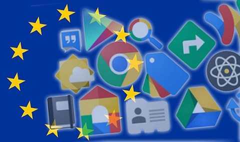 Liên minh Châu Âu đã buộc tội Google vì lạm dụng vị trí độc quyền của Android. Ảnh Express
