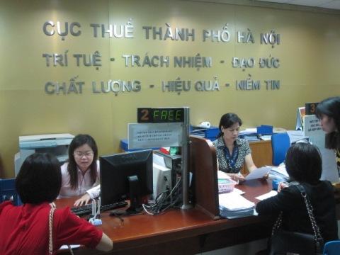 Cục Thuế Hà Nội kiên quyết đối với các đơn vị chây ỳ nợ thuế