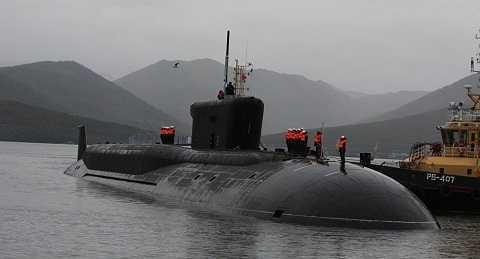 Tàu ngầm của Nga