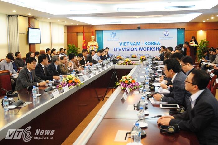 Hội thảo Chuyên đề 4G LTE Việt Nam – Hàn Quốc sáng 1/4 - Ảnh: Tùng Đinh
