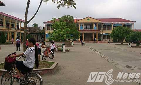 Trường Tiểu học Đặng Cương (huyện An Dương, TP Hải Phòng) nơi xảy ra vụ việc - Ảnh MK