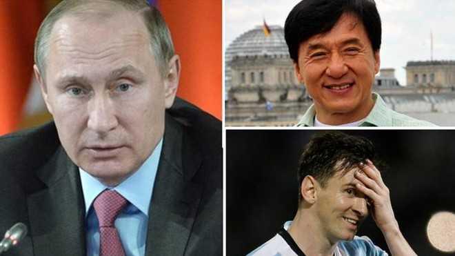 Tài khoản bí mật của bạn bè Tổng thống Nga Putin, ngôi sao Thành Long và danh thủ Messi xuất hiện trong tài liệu bị rò rỉ