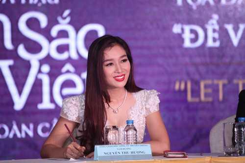 Hoa khôi Thu Hương