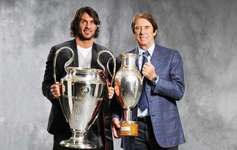 Cha con nhà Maldini đều là những huyền thoại của AC Milan