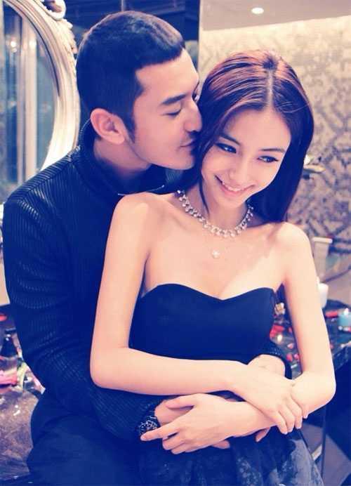 Huỳnh Hiểu Minh và Angelababy - một trong những cặp sao mặn nồng nhất của showbiz Hoa ngữ.