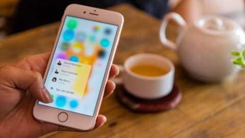 Công nghệ 3D Touch là điều hiếm hoi thiếu sót trên iPhone SE