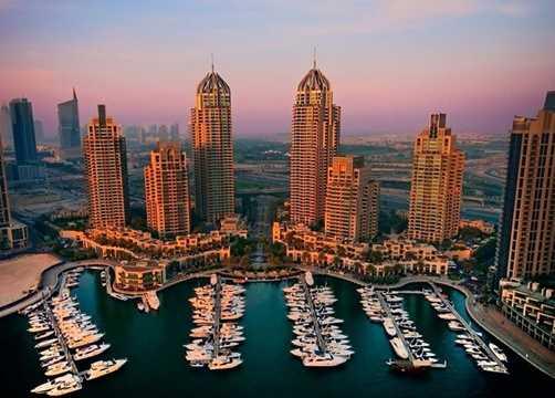 Bến du thuyền ở Dubai này được thiết kế với kiến trúc sang trọng, hiện đại khiến cho bất kỳ ai khi đến nơi này cũng không khỏi choáng ngợp.