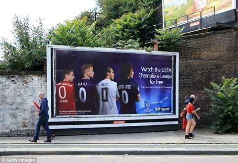 Kênh BT Sport sẽ cho phát miễn phí chung kết Champions League