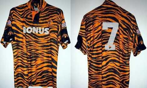 Hull City minh họa rõ nét biệt danh Những chú hổ vào năm 1993